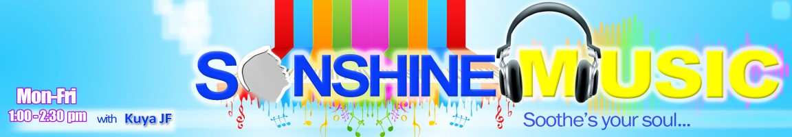 Sonshine Music (Monday – Friday: 1:00-2:30 pm)