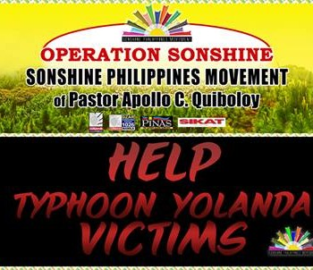logo spm for yolanda victim